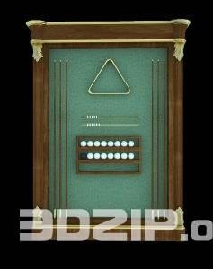 3d billiard model 1 free download