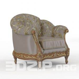 3d Armchair model 10 free download