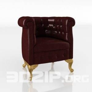 3d Armchair model 11 free download