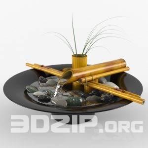 3D Vases Model 4