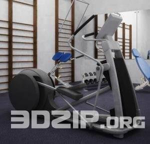 3D Sport Model 5