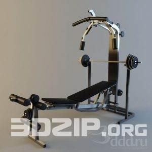 3D Sport Model 7