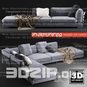 3d model Sofa 22 free download