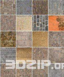 102 Pavement MAPPING & TEXTURE