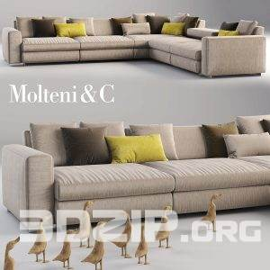 3d model Sofa 19 free download