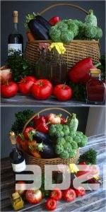 3D Vegetables Model 2 free download