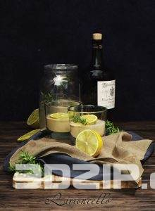 3D Food and drinks Model 2 free download