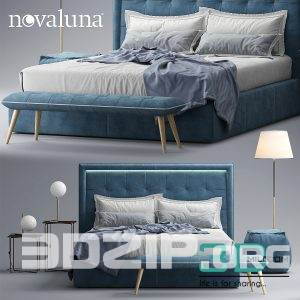 3d Bed model 26 free download