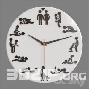 3d U18 Clock model
