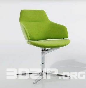 3d Chair model 44 free download