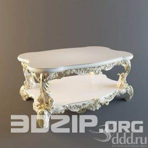 3d coffee table classic model 23 free download