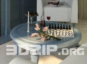 3d coffee table classic model 27 free download