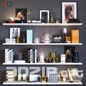 3d model Decorative set 12 free download