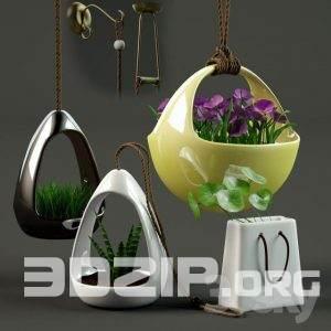 3d model Decorative set 4 free download