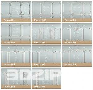 3D Website Decorative plaster Model 33