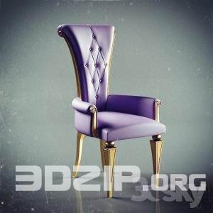 3d Armchair model 32 free download