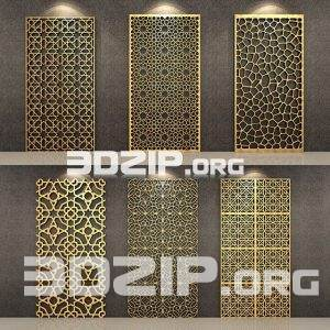 3d Pattern Pannels Model 4 free download