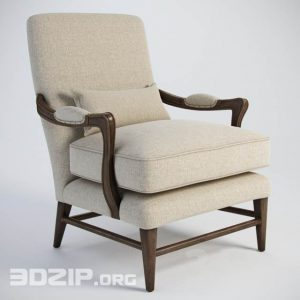 3d Armchair model 38 free download