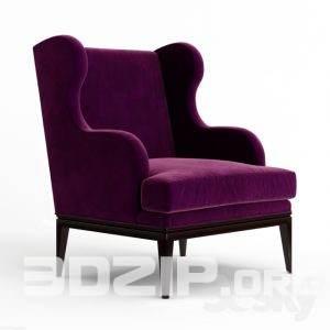 3d Armchair model 39 free download