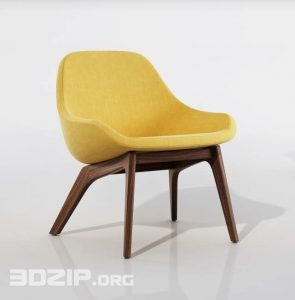 3d Chair model 57 free download