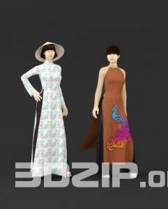 3d People model 1 free download