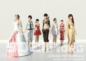 3d People model 3 free download