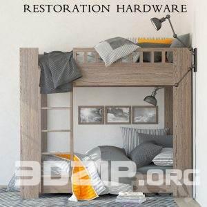 3d Child Bed Model 12 free download