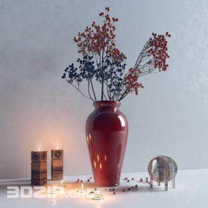 3D Vases Model 8 free download