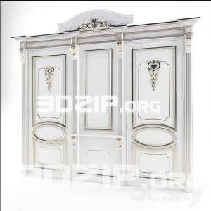 3d Door model 13 free download