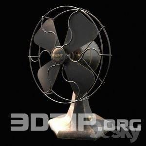 3d Fan Model 2 Free download