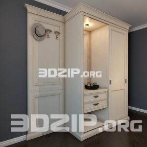 3d Wardrobe model 7 free download