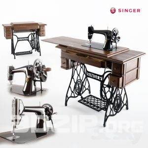 3d sewing machine model 4 free download