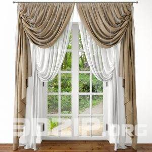 3d Curtain Model 4 free download