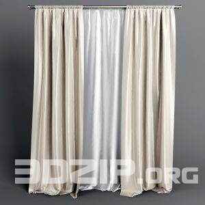 3d Curtain Model 9 free download