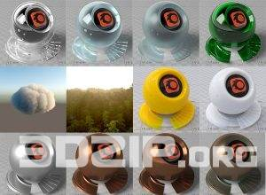 Free materials for Corona Renderer