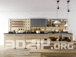 Valcucine kitchen – Free scene by A.M Architect