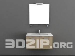 3D models Wash basin 01 free download