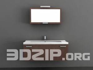3D models Wash basin 03 free download