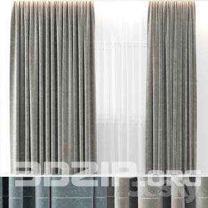 3d Curtain Model 10 free download