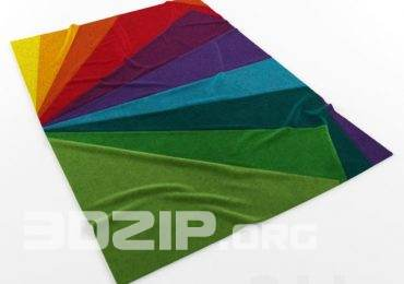 3D Carpet Model 01 free download