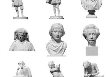 Free 3D Scanned objects by Three D Scan