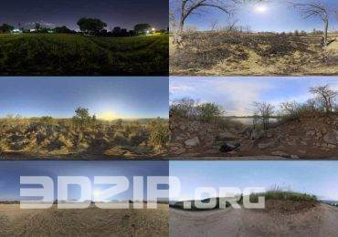 Free HDRI Bundle by HDRIHaven