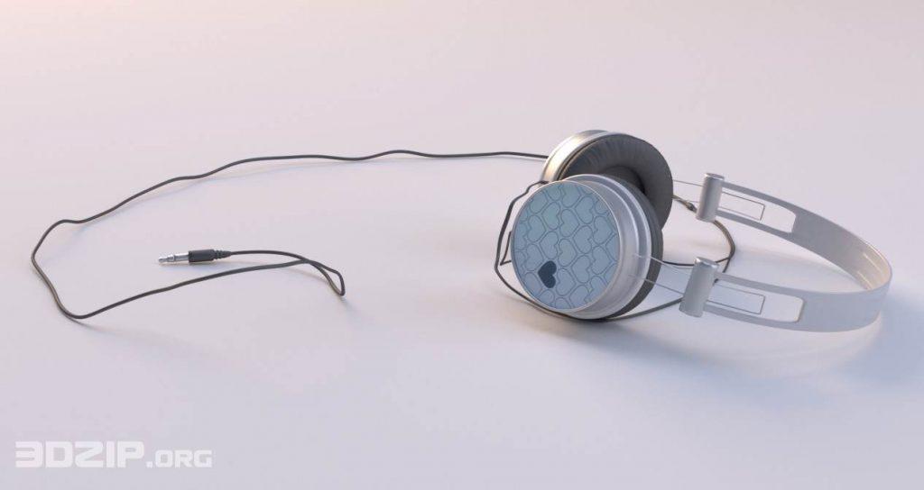 "Headphones modeled for ""Amsterdamse Penthouse"" scene"