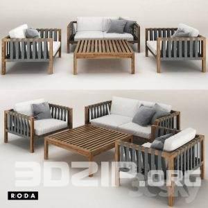 Sofa 3D Model 60 free download