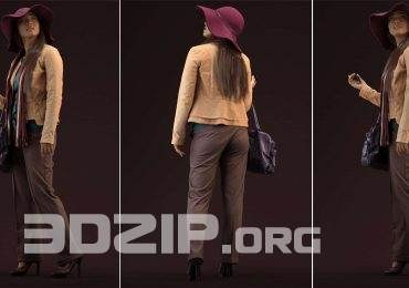 Casual 3D People by Human Alloy