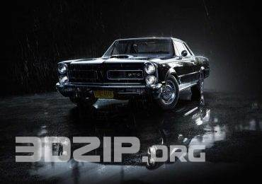 Free 3D Model by Pontiac GTO