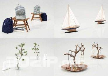 Free Decorative Objects by VizPeople