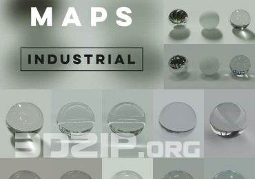Set Of 12 HDR Environment Maps by Philip Modin