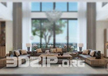Sofa Dong Gia 3D Model 64 free download