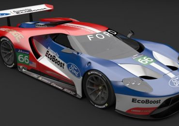 Free 3D model Ford GTLM from Tod Deppe